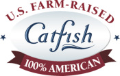 100% U.S. Farm Raised Catfish